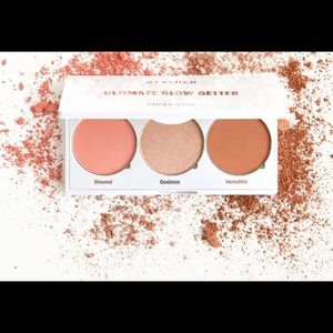 3 for $45 Realher blush face trio palette new